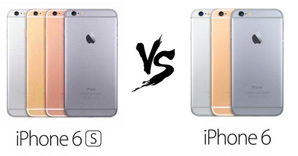 เปรียบเทียบ iPhone 6s กับ iPhone 6 ต่างกันอย่างไร