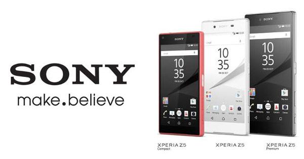 เปิดราคา Sony Xperia Z5 เรือธงใหม่ในไทยอย่างเป็นทางการ เริ่มต้นที่ 21,990 บาท วางจำหน่ายตุลาคมนี้