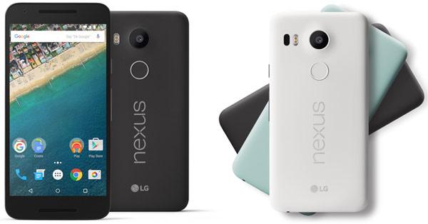 LG Nexus 5X สมาร์ทโฟน Pure Android กับสเปคสดใหม่ พร้อมกล้อง Laser Autofocus และเซ็นเซอร์สแกนนิ้วสุดล้ำ
