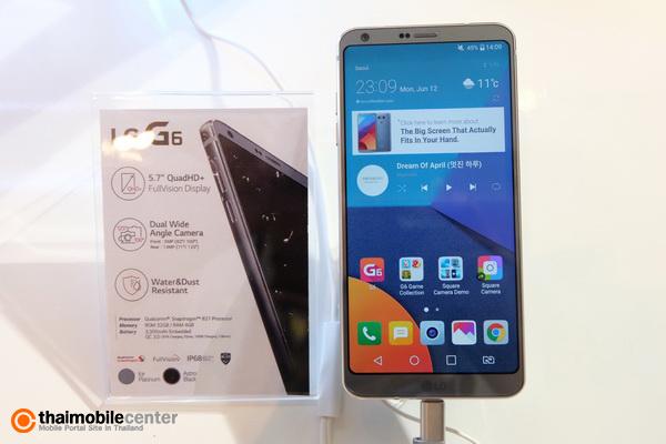 พรีวิว (Preview) LG G6 สมาร์ทโฟนเรือธงจอไร้ขอบ FullVision