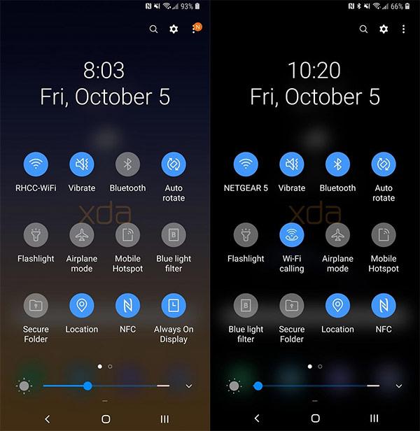 Samsung Galaxy Note 9 หลุดภาพ Interface จาก Android 9 0 Pie เวอร์ชัน