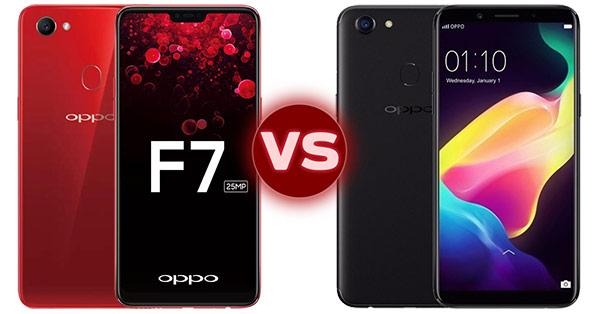 เปรียบเทียบ OPPO F7 และ OPPO F5 สองมือถือเพื่อคนรักเซลฟี่พร้อม AI Beauty มีฟีเจอร์เด่นอย่างไร