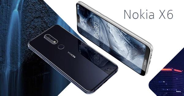 มาแล้ว!!! Nokia X6 มือถือจอไร้ขอบ กล้องคู่ในราคาเริ่ม 6,500 บาท มาพร้อม RAM 4GB ชิป Snapdragon 636 บนดีไซน์กระจกรอบตัวเครื่อง