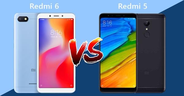 เทียบสเปคxiaomi redmi6 กับ xiaomi redmi5 มีอะไรไม่เหมือนกันและเปลี่ยนแปลงอะไรไปบ้าง!!!