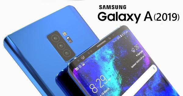 Samsung Galaxy A รุ่นใหม่ อาจมาพร้อมกล้องหลัง 3 ตัว (Triple Camera) และระบบสแกนลายนิ้วมือใต้หน้าจอ ลุ้นเปิดตัวปีหน้า