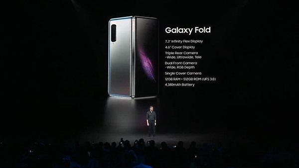 เปิดตัว Samsung Galaxy Fold มือถือพับจอพับได้ พร้อมเป็น tablet ในตัว