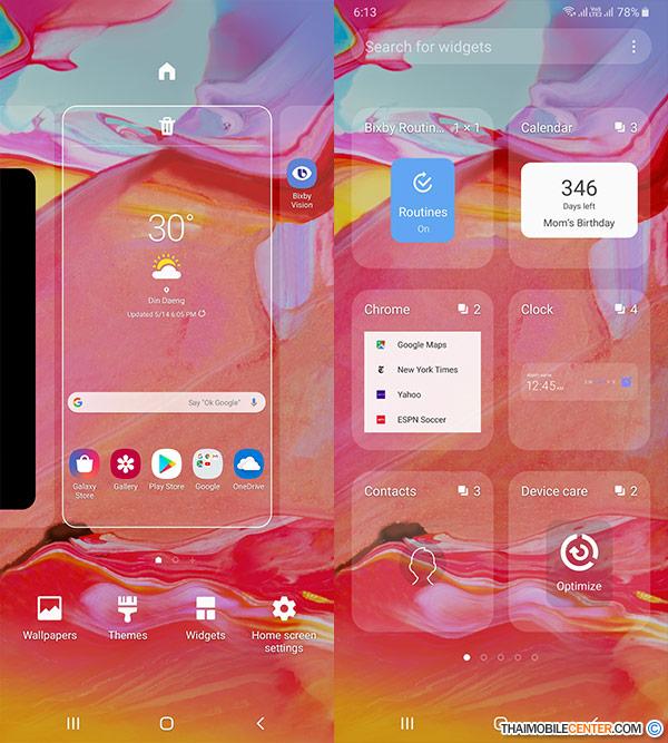 รีวิว Samsung Galaxy A70 สมาร์ทโฟน 3 กล้องหลังอัจฉริยะ พร้อม