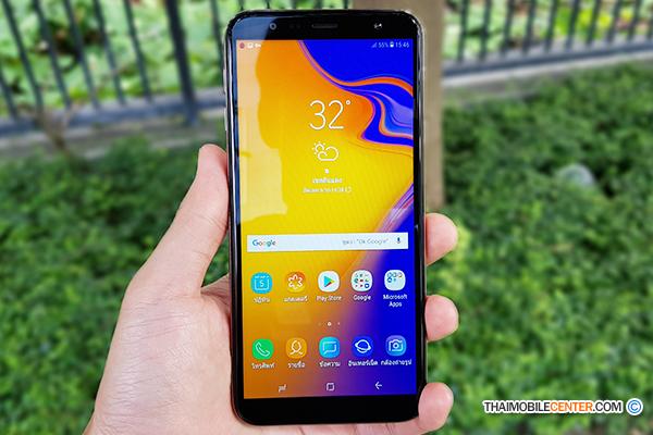 รีวิว Samsung Galaxy J4+ สมาร์ทโฟนจอใหญ่ ในราคาเล็กๆ พร้อมสเปกกำลัง
